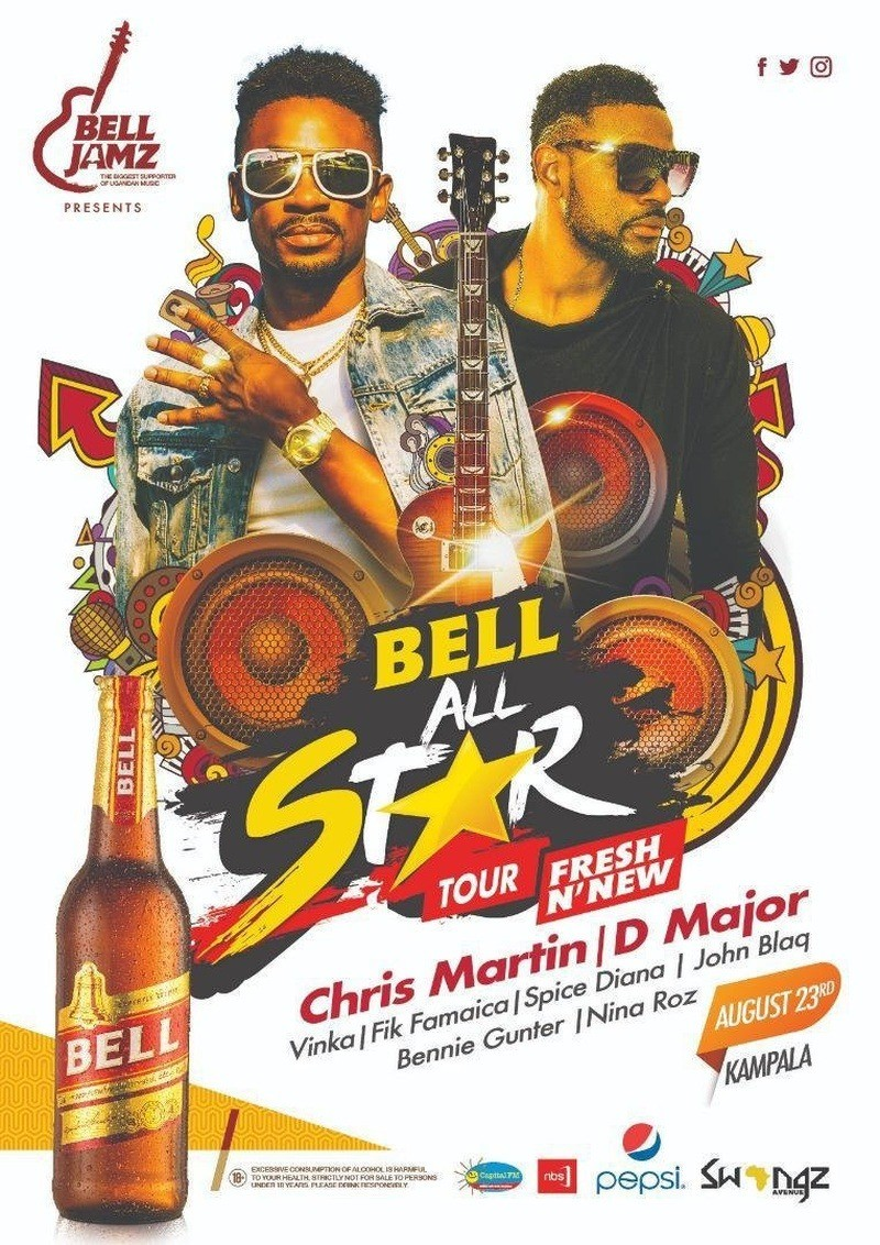 Bell All Star Tour presents Chris Martin and D Major